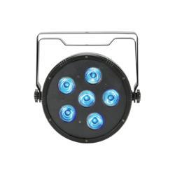 LED 6in1 Plastic PAR, QTX