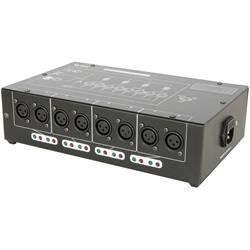 DMX-D8 DMX Splitter 8-vägs, QTX