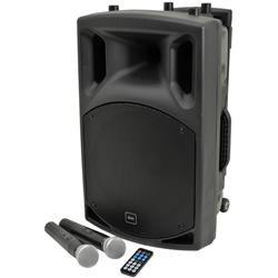 QX12PA Portabelt PA med Bluetooth, QTX