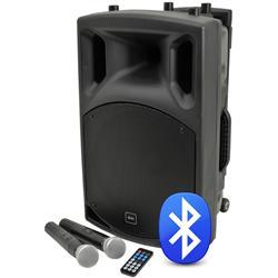 QX15PA Portabelt PA med Bluetooth, QTX