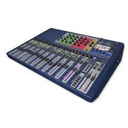 Si Expression 2, 66 ingång till mix, 20 Aux bus, 4 MTX, 4 FX, 24 reglar