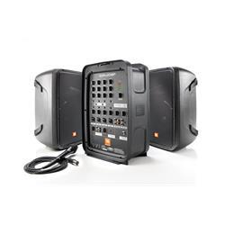 """UTFÖRSÄLJNING - EON208P, Portabelt Komplett PA, Bluetooth Audio streaming, 8ch mixer/FX, 2st 8"""""""" 2-vägs högtalare"""