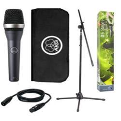 D5 Stage Pack, mikrofon, stativ, 5m xlr-kabel