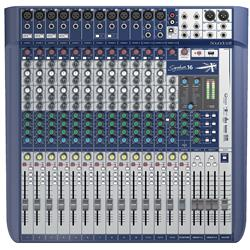 Signature 16, 16-kanals mixer m FX, USB 2/2