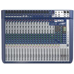 Signature 22, 22-kanals mixer m FX, USB 2/2