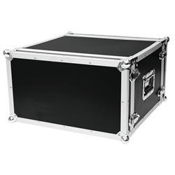 Rackcase 6HE Trä Effekt/Grund 40cm