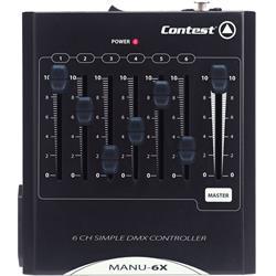 MANU-6X 6-kanals DMX-Bord