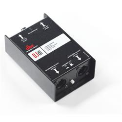 DJDI, Direct injection box, passiv, stereo, Connected