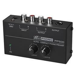 RIIA förstärkare - MicroPHONO PP400 / PS500