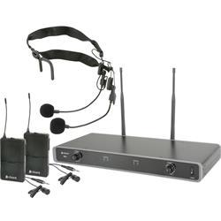 NU2 Dubbelt Bodypacksystem - Frekvens: 863.8 MHz + 864.8MHz