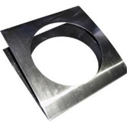 Par-64 Färgfilterram Silver