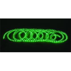 Ljusslinga Rubberlight 9m Grön - DEFEKT