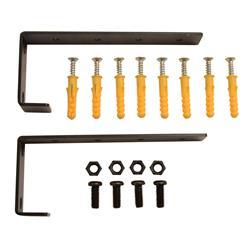 Rackmonterings kit vägg / tak 1he
