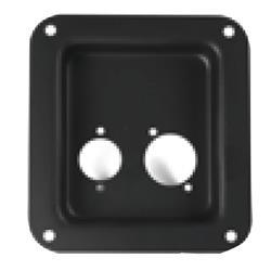 Kontaktplatta 2xXLR Classic (gamla modellen)