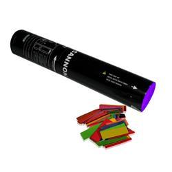Handhållen konfettikanon - 28 cm - Flerfärgad