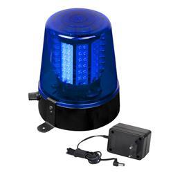 LED Polislampa / Saftblandare Blå, JB-Systems