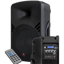 JB PPA-121 - Aktiv högtlr. m. USB/SD/FM-Radio