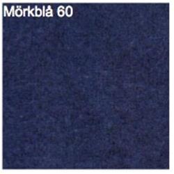 Scenmolton, Mörkblå, 3m