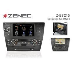 ZENEC E>GO - Z-E3215 - BMW 3er, Multimediaenhet för E90/E91/E92/E93