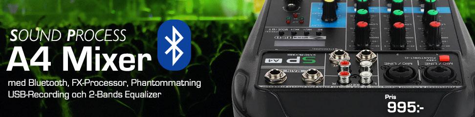 Minimixer med inbyggd Bluetooth
