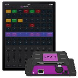 Cuety DMX CPU LPU-1-VP, Ljuskontroller för iPad